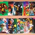 Wolverine From Then Till Now 2 (Comic Images 1992) - Lot of 35 Cards EX