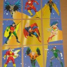 DC Stars (SkyBox 1994) Puzzle Card Set VG