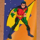DC Stars (SkyBox 1994) Puzzle Card P4- Robin VG