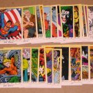 DC Stars (SkyBox 1994) - Lot of 25 Cards VG