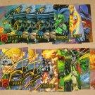 DC Outburst FirePower (Fleer/SkyBox 1996) - Lot of 27 Cards EX