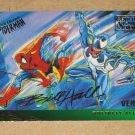 Spider-Man, Fleer Ultra (1995) Gold Foil Signature Card #134- Venom VG