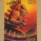 Spider-Man, Fleer Ultra (1995) Gold Foil Signature Card #54- Stegron VG