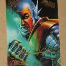 Spider-Man, Fleer Ultra (1995) Gold Foil Signature Card #55- Strikeback EX