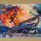Spider-Man, Fleer Ultra (1995) Gold Foil Signature Card #103- Female Symbiote EX