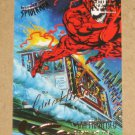 Spider-Man, Fleer Ultra (1995) Gold Foil Signature Card #141- San Francisco EX