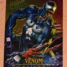 Spider-Man, Fleer Ultra (1995) Masterpieces Web Card #7- Venom EX