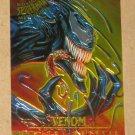 Spider-Man, Fleer Ultra (1995) Masterpieces Web Card #8- Venom EX