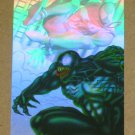 Spider-Man, Fleer Ultra (1995) Holoblast Card #6- Venom vs. Scarlet Spider EX