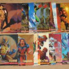 X-Men: Wolverine, Fleer Ultra (Fleer/Skybox 1996) Lot of 24 Cards VG/G