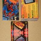Spider-Man, Fleer Ultra (1995) - Near Card Set 148/150 EX