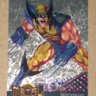 Marvel Metal (Fleer 1995) Gold Blaster Card #18- Wolverine EX
