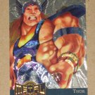 Marvel Metal (Fleer 1995) Gold Blaster Card #15- Thor EX