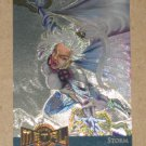 Marvel Metal (Fleer 1995) Gold Blaster Card #13- Storm EX