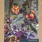 Marvel Metal (Fleer 1995) Gold Blaster Card #9- Punisher EX