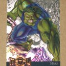 Marvel Metal (Fleer 1995) Gold Blaster Card #5- Hulk EX