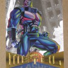 Marvel Metal (Fleer 1995) Silver Flasher Card #82- Apocalypse EX