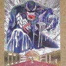 Marvel Metal (Fleer 1995) Silver Flasher Card #80- Venom EX