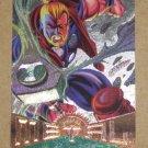 Marvel Metal (Fleer 1995) Silver Flasher Card #14- Thunderstrike EX
