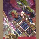 Marvel Metal (Fleer 1995) Metal Blaster Card #1- Cable EX