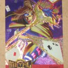 Marvel Metal (Fleer 1995) Metal Blaster Card #4- Gambit EX