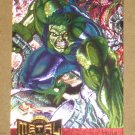 Marvel Metal (Fleer 1995) Metal Blaster Card #5- Hulk EX