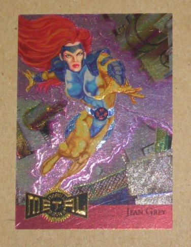 Marvel Metal (Fleer 1995) Metal Blaster Card #8- Jean Grey EX-MT