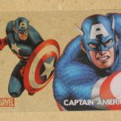 70 Years of Marvel Comics (Rittenhouse 2010) Clearly Heroic Card PC1- Captain America EX