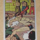 70 Years of Marvel Comics (Rittenhouse 2010) Metalic Ink Parallel Card #5- 1942 EX