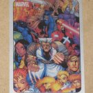 70 Years of Marvel Comics (Rittenhouse 2010) Metalic Ink Parallel Card #65- Mangaverse 2002 EX