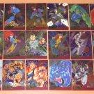 Marvel Metal (Fleer 1995) Metal Blaster Card Set EX