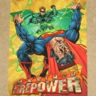 DC Outburst FirePower (Fleer/SkyBox 1996) Maximum Card #16 G