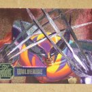 Flair '95 Marvel Annual (Fleer 1995) PowerBlast Card #1- Wolverine VG