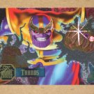 Flair '95 Marvel Annual (Fleer 1995) PowerBlast Card #21- Thanos EX