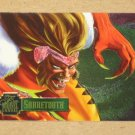 Flair '95 Marvel Annual (Fleer 1995) PowerBlast Card #9- Sabretooth EX