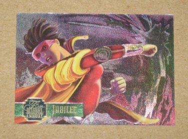 Flair '95 Marvel Annual (Fleer 1995) PowerBlast Card #8 Jubilee EX