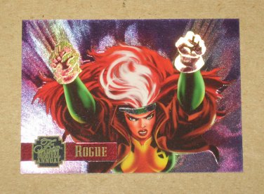 Flair '95 Marvel Annual (Fleer 1995) PowerBlast Card #4 Rogue EX