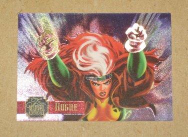 Flair '95 Marvel Annual (Fleer 1995) PowerBlast Card #4- Rogue VG