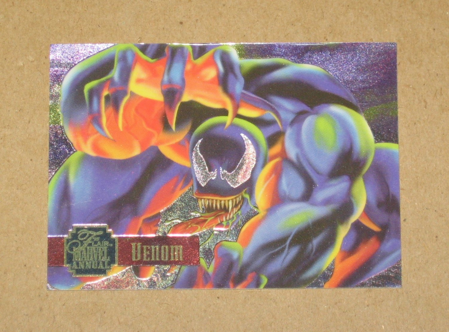 Flair '95 Marvel Annual (Fleer 1995) PowerBlast Card #3- Venom VG