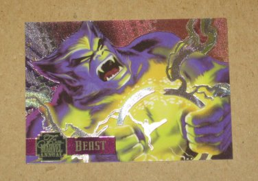 Flair '95 Marvel Annual (Fleer 1995) PowerBlast Card #12- Beast EX