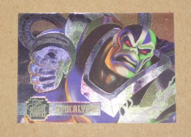 Flair '95 Marvel Annual (Fleer 1995) PowerBlast Card #11- Apocalypse EX