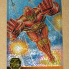 Flair '95 Marvel Annual (Fleer 1995) Chromium Card #3- Iron Man EX