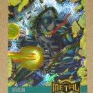 Marvel Metal (Fleer 1995) Card #136- Venom VG