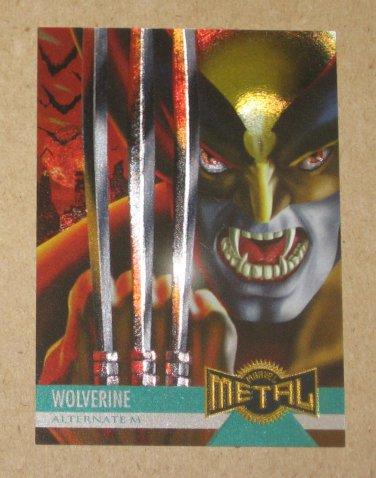 Marvel Metal (Fleer 1995) Card #137- Wolverine EX