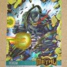 Marvel Metal (Fleer 1995) Card #136- Venom EX