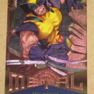 Marvel Metal (Fleer 1995) Card #125- Wolverine EX