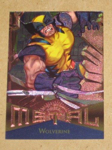 Marvel Metal (Fleer 1995) Card #125- Wolverine EX
