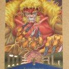 Marvel Metal (Fleer 1995) Card #115- Sabretooth EX
