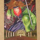 Marvel Metal (Fleer 1995) Card #4- Gambit EX