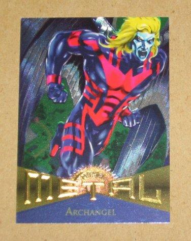 Marvel Metal (Fleer 1995) Card #83- Archangel EX-MT